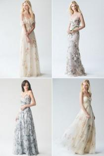 a19c30230b8a Romantic Floral Bridesmaid Dresses Your Girls Will Love
