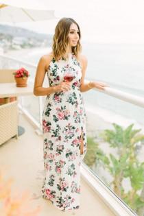 wedding photo - Lido Dress In Vintage Floral