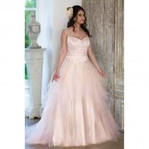 wedding photo - Sonsie by Veromia Style SON91605 by Sonsie - Ivory  White  Blush  Pink Tulle Floor Sweetheart  Straps A-Line Wedding Dresses - Bridesmaid Dress Online Shop