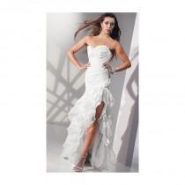 wedding photo - Alyce Paris Shimmer Organza Ruffle Mermaid Prom Dress 6698 - Brand Prom Dresses