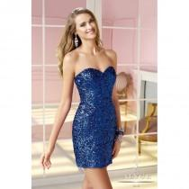 wedding photo - Sapphire Alyce Paris Homecoming 4369 Alyce Paris Shorts - Top Design Dress Online Shop