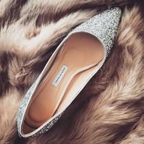 wedding photo - EU 38, bridal shoes,wedding shoes,silver wedding shoes,low heels,Glitter Shoes,wedding shoes,Bridesmaid shoes,girlfriend gift,Pumps