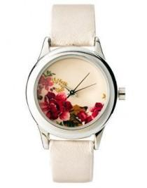 wedding photo - Accessorize Ladies Floral Print Watch