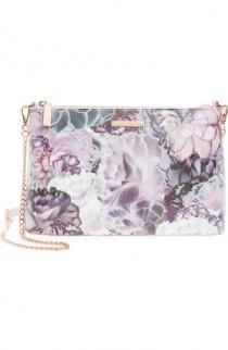 wedding photo - Illuminated Bloom Leather Crossbody Bag