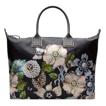 wedding photo - Ted Baker Immy Gem Gardens Tote Bag, Black