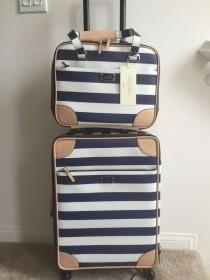 wedding photo - NWT KATE SPADE BON Voyage International Carry On  Topper TRAVEL SET ($1100 TAX)