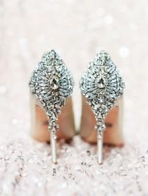 wedding photo - A Desert Wedding Designed With Modern Romance