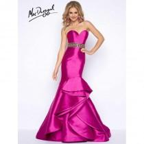 wedding photo - Cassandra Stone 66039A Magenta,Light Jade Dress - The Unique Prom Store