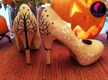 wedding photo - Tree of Gondor Lord of the Rings Wedding Shoes