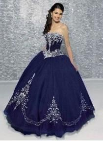wedding photo - Ball-Gown Sweetheart Floor-Length Organza Quinceanera Dress With Embroidered Beading
