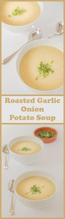 wedding photo - Roasted Garlic Onion And Potato Soup