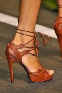 wedding photo - $55.19 Dresswe.com SUPPLIES Brown High Heel Summer Sandals