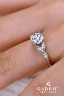 wedding photo - Gabriel & Co Engagement Rings Extraordinaire