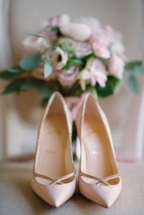 wedding photo - 100 Pretty Wedding Shoes From Pinterest