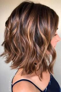 wedding photo - 23 Charming And Chic Options For Brown Hair With Highlights