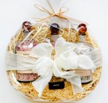wedding photo - Large Gift Set - Bath Salts Apothecary Bottles