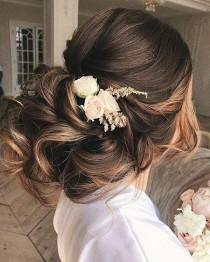 wedding photo - 65 New Long Wedding Hairstyles & Updos From Elstile