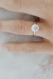 wedding photo - 24 Cutest Rose Gold Engagement Rings That You've Ever Seen