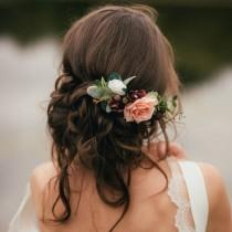 wedding photo - Tabitha Rose Hair Comb
