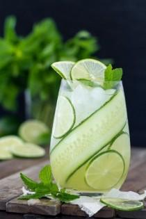 wedding photo - Gin Cucumber Cooler