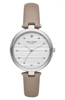 wedding photo - Varick Leather Strap Watch, 36mm