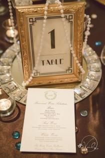 wedding photo - 30 Great Gatsby Vintage Wedding Ideas For 2018 Trends - Page 3 Of 3