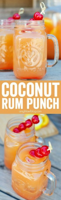 wedding photo - Coconut Rum Punch