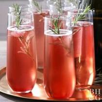 wedding photo - Cranberry Orange Rosemary Cocktail