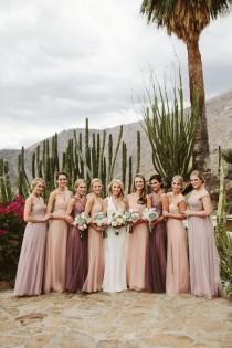 wedding photo - Pastel Bridesmaid Dresses
