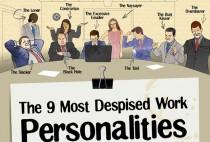 wedding photo - The 9 Most Despised Work Personalities [Infographic]