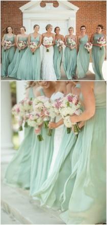 wedding photo - Turquoise Bridesmaid Dress