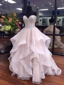 wedding photo - Strapless Ball Gown