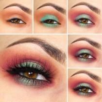 wedding photo - Colorful Eyeshadow Tutorial