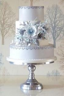 wedding photo - Lilac Wedding Cake