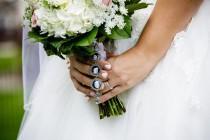 wedding photo - Wedding Bouquet Photo Charm, Bouquet Photo Charm, Memorial Photo Charm, Wedding Bouquet, Bouquet Photo Jewelry, Photo Jewelry, Remembrance