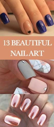 wedding photo - Beautiful Nail Art