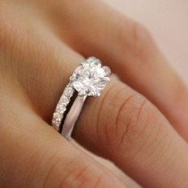 wedding photo - 30  Most Popular Simple Engagement Rings