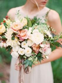 wedding photo - European Garden Bridal Inspiration