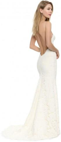 wedding photo - Katie May Poipu Low Back Gown