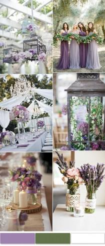 wedding photo - 2017 Most Trendy And Hot Color Combinations Based On The Wedding Report