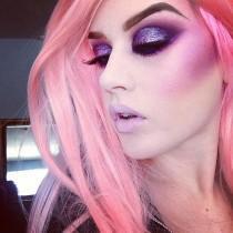 wedding photo - Purple Glitter