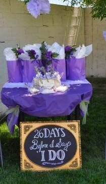 wedding photo - Purple And Lavender Bridal Shower