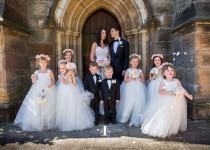 wedding photo - As Seen on The Daily Telegraph Flower Girl Dress, Ivory dresses, tutu dress, tulle dress, floor length, frock, ivory white