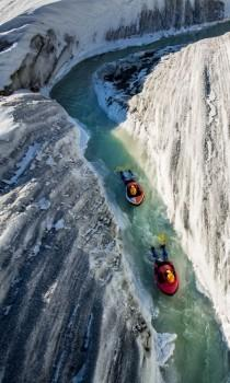 wedding photo - Photo Of The Day: Tubing Down A Glacier
