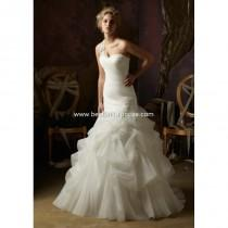 wedding photo - Mori Lee Blu Wedding Dresses - Style 4970 - Formal Day Dresses