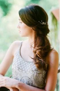 wedding photo - 30 Captivating Wedding Hairstyles For Medium Length Hair