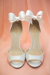wedding photo - Ivory And Peach Wedding At White Cliffs Country Club