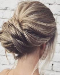 wedding photo - Easy And Pretty Chignon Buns Hairstyles You'll Love To Try