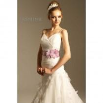 wedding photo - Jasmine Collection - Style F410 - Elegant Wedding Dresses