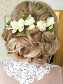 wedding photo - 50 Long Wedding Hairstyles From Websalon Weddings